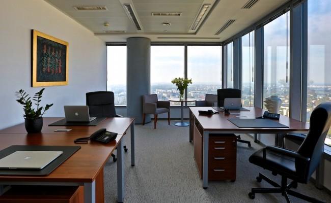 Biuro czteroosobowe